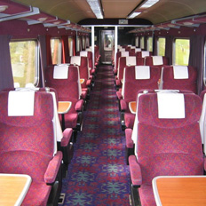 First Class Travel, Scotland to London, For Cancer Research