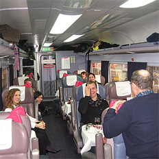1st Class Group Train Travel